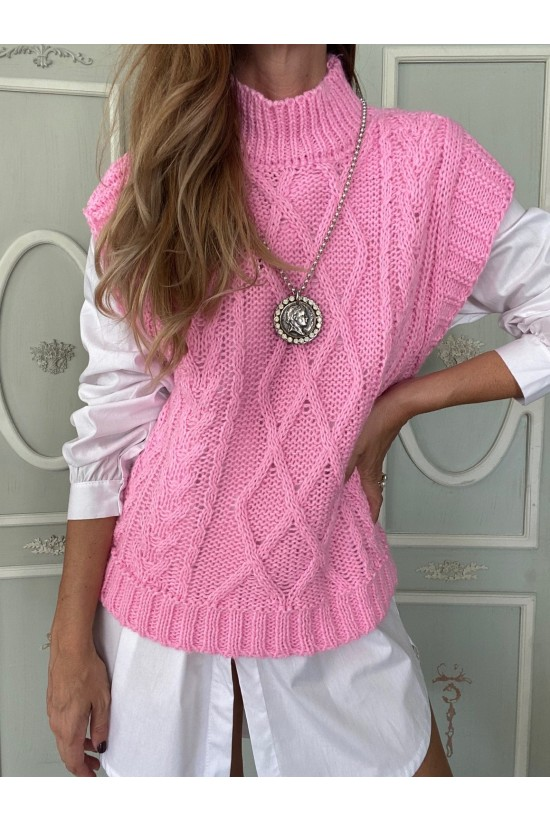 CHALECO BOLONIA PINK